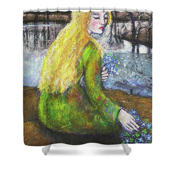 Spring of Four Seasons - Shower Curtain