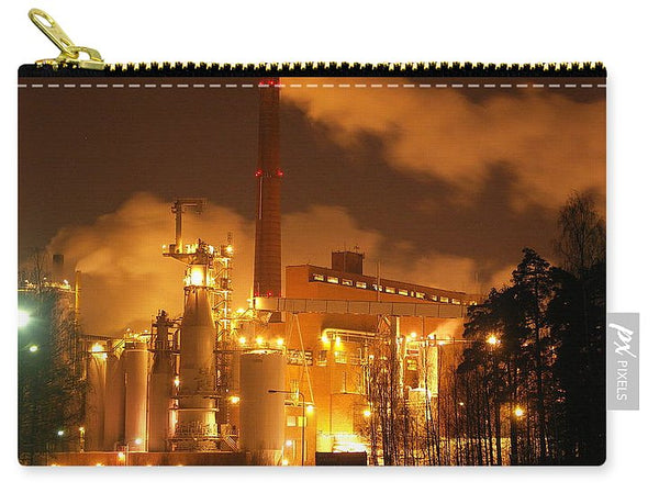 Sunila Pulp Mill at Night - Carry-All Pouch