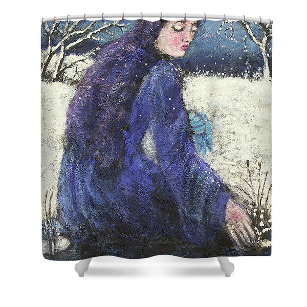Winter of Four Seasons - Shower Curtain