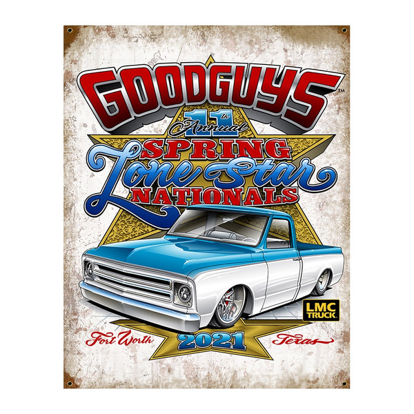 11th Spring Lone Star Nationals Event Exclusive Tin Sign