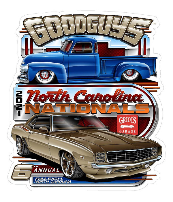 6th North Carolina Nationals Event Exclusive Sticker