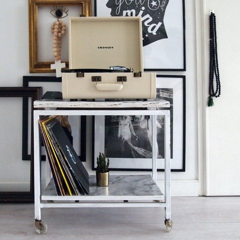 Crosley Portfolio Cream - The Home Rebel