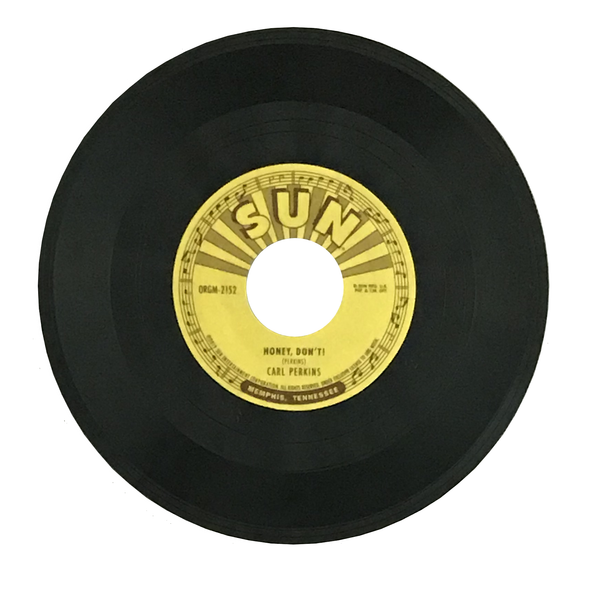 3-inch record Carl Perkins - Honey, Don't!