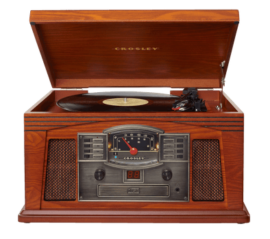 Crosley Radio Europe | Lancaster paprika Bluetooth, radio, cd, cassette record player