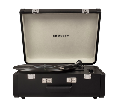 Portfolio record player | Black - Crosley Radio Europe