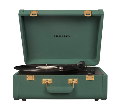 Crosley Radio Europe | Portfolio record player Bluetooth suede quetzal