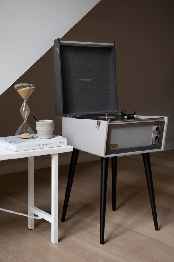 Bermuda record player | Grey - Crosley Radio Europe