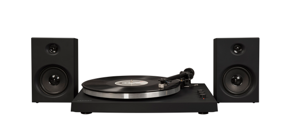 Crosley Radio Europe | T150 black Bluetooth and external speakers record player