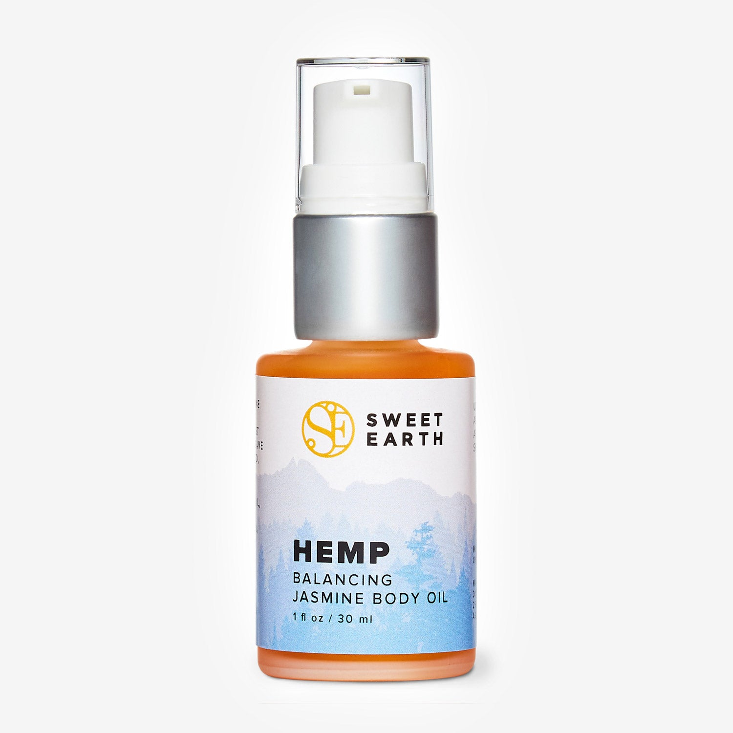 Hemp Balancing Jasmine Body Oil