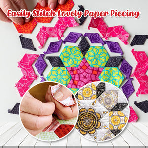 Paper Piecing Template