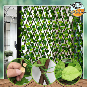 Extendable Garden Privacy Trellis