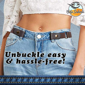 No-Buckle Adjustable Belt