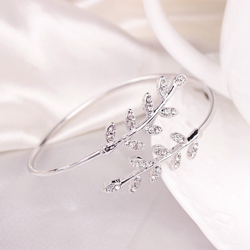 Leaf Diamond Bracelet