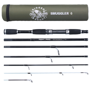 Smuggler 6 215+190cm Compact Travel Rod+2 tips
