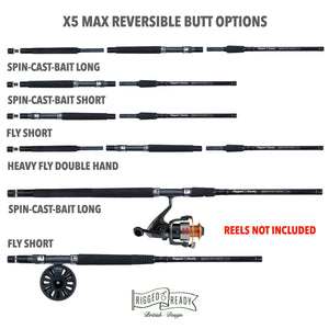 X5 Max Combination. Rod + Reel + Tackle Box. Save £25