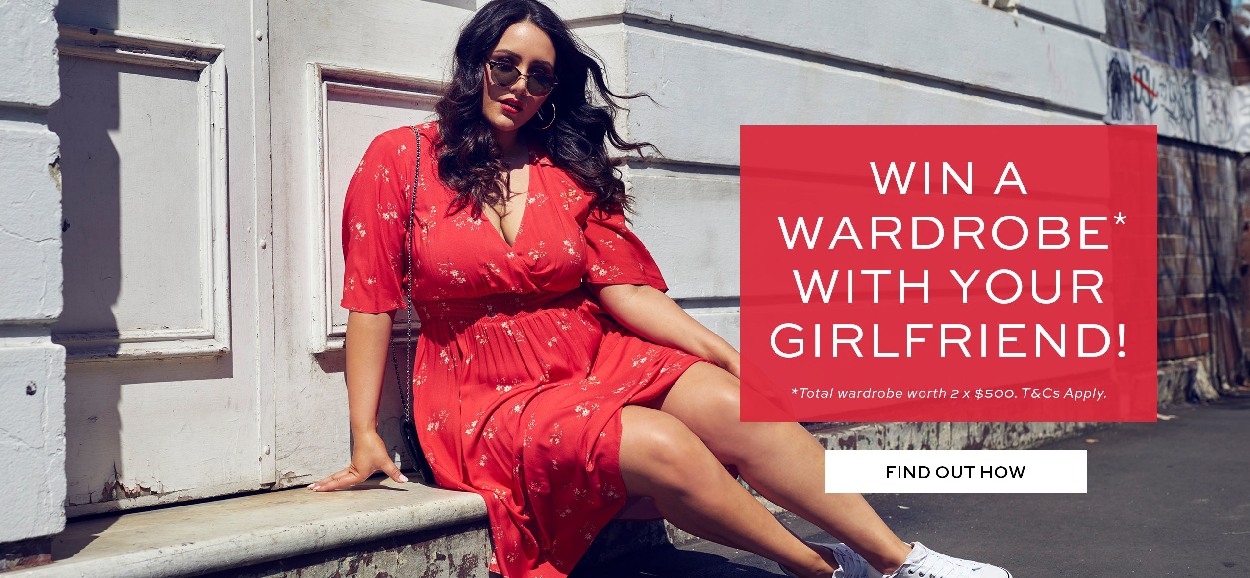 Win A Wardrobe With Your Girlfriend