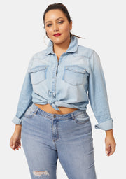Self Control Denim Shirt