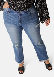 Immortal Boyfriend Distressed Jean