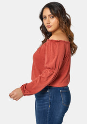 Halsey Off Shoulder Top