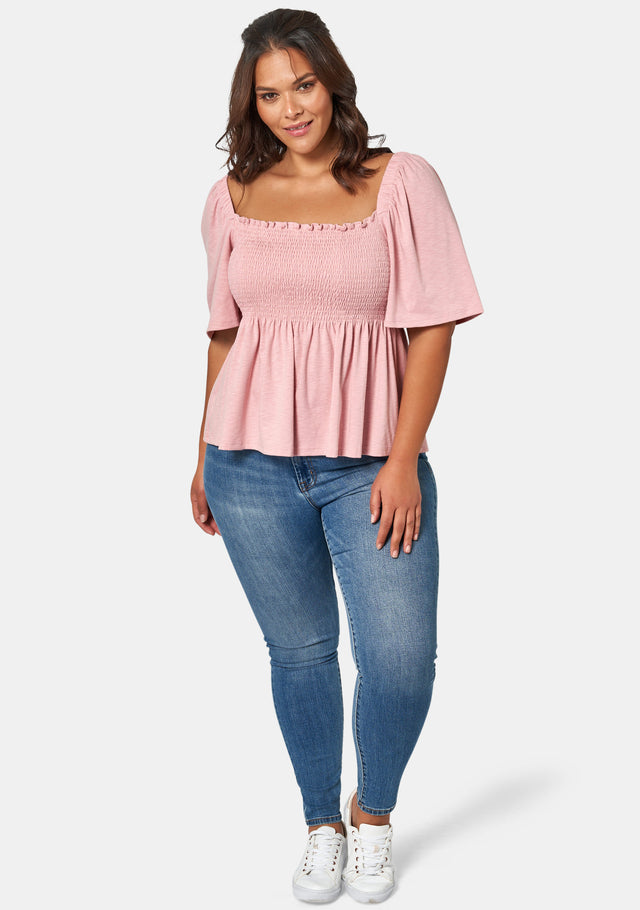 Clara Square Neck Top