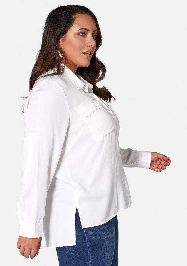Lisette Pocket Detail Shirt