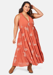 Savannah Drifter Maxi Dress
