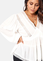 Astral Passenger Lace Blouse