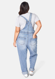 Dana Distressed Overalls