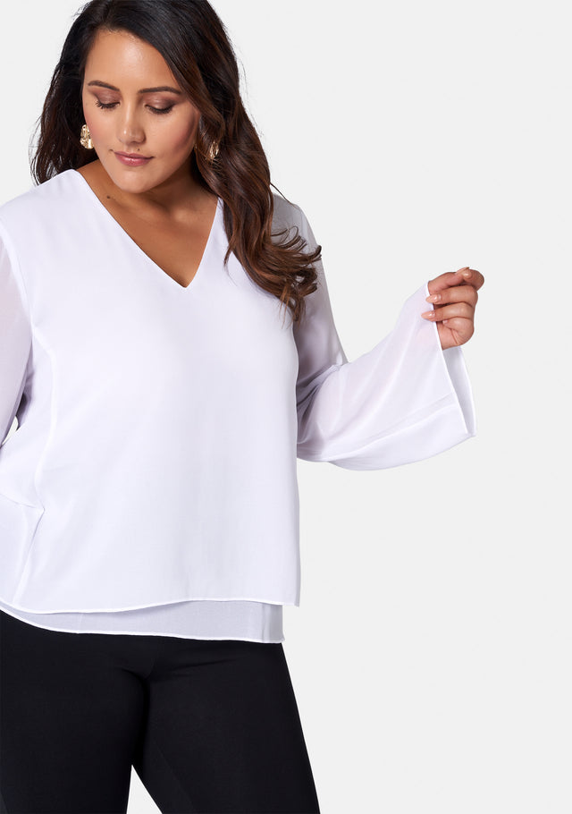 Darcey Double Layered Blouse