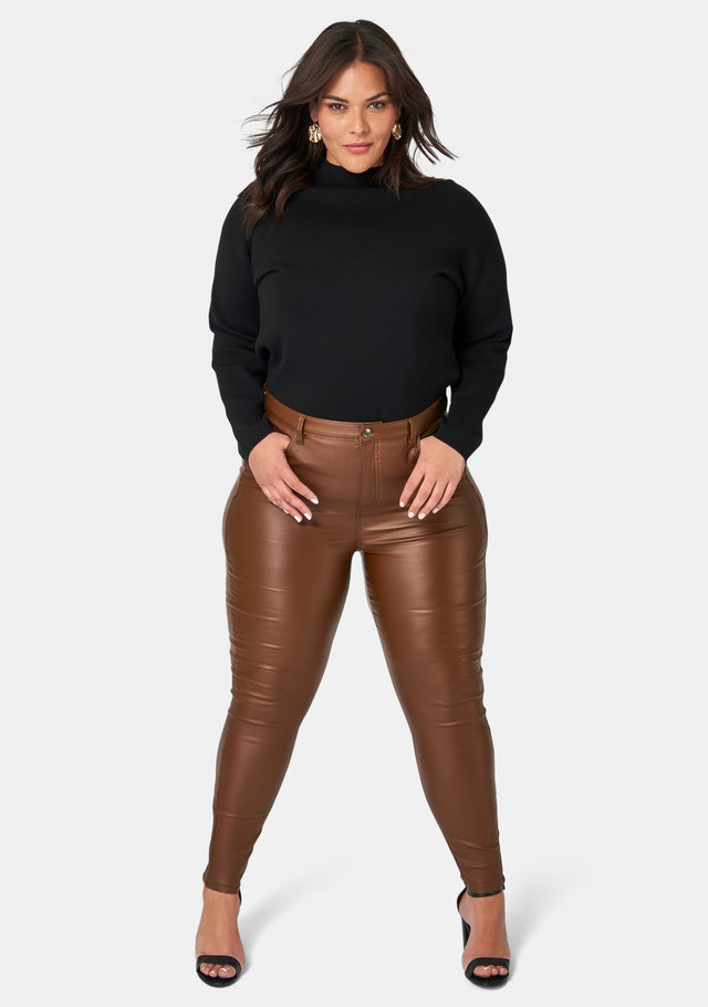 Therese Lift & Shape Coated Jeans