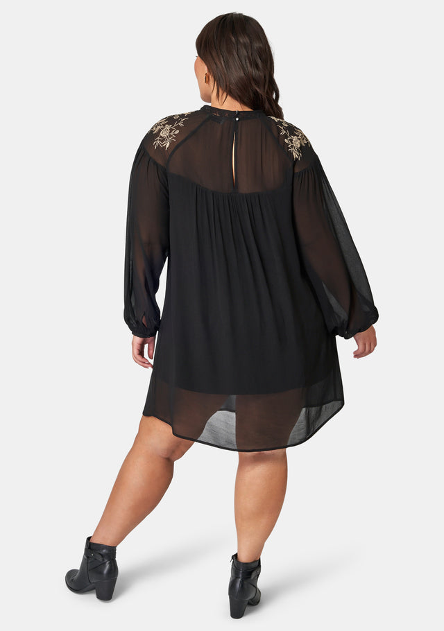Brielle Embroidered Dress