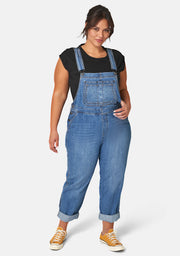 Hailey Denim Overalls