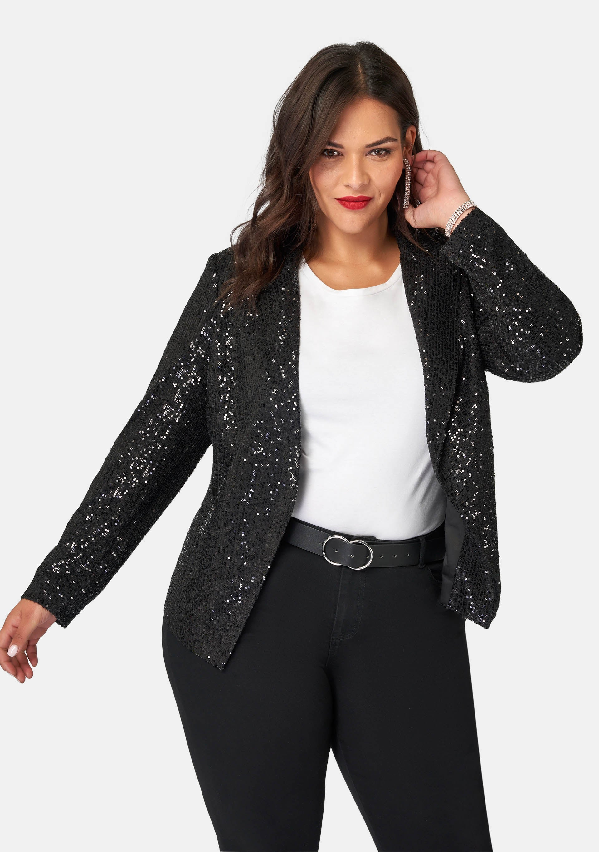 All Day & Night Sequin Jacket