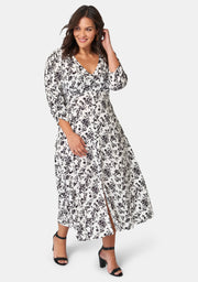 Linnae Print Maxi Dress