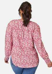 Faith Print Blouse