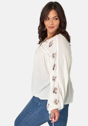 Love Affair Embroidered Blouse