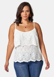 Camille Embroidered Cami