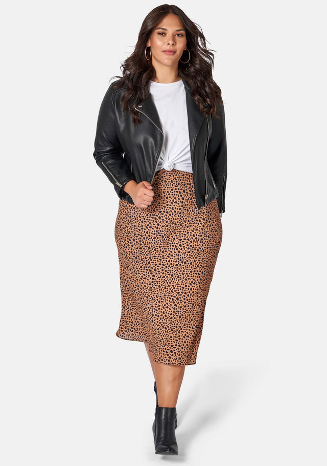 Emily Animal Printed Skirt