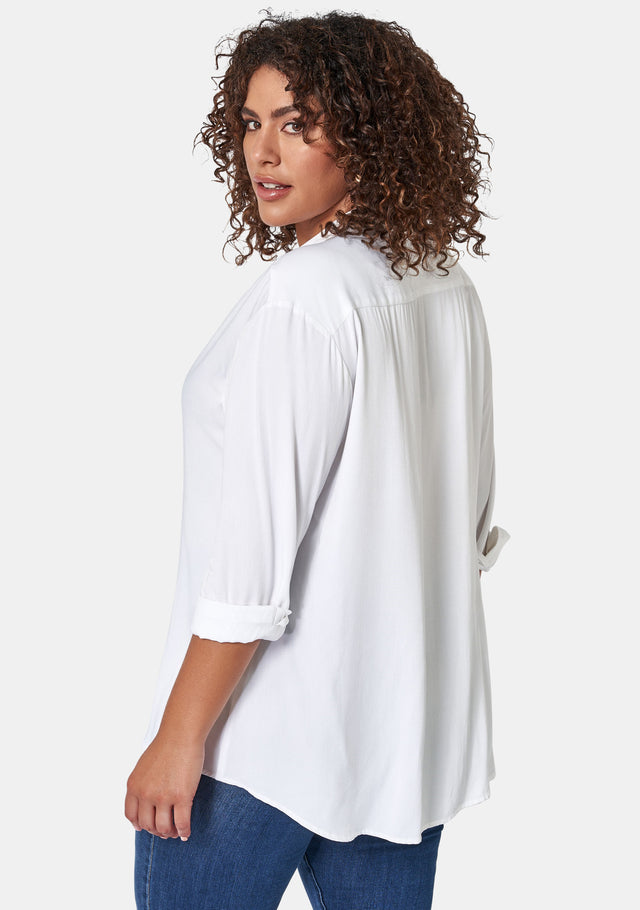 Jade Over Sized Shirt