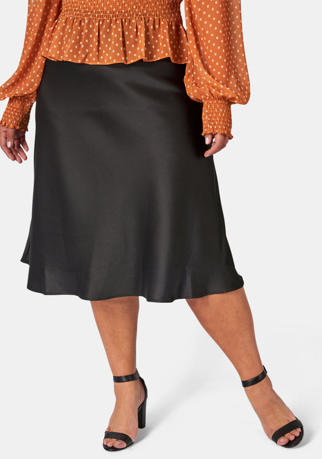 Ella Satin Skirt