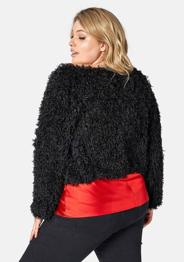 Hollywood Fluffy Jacket