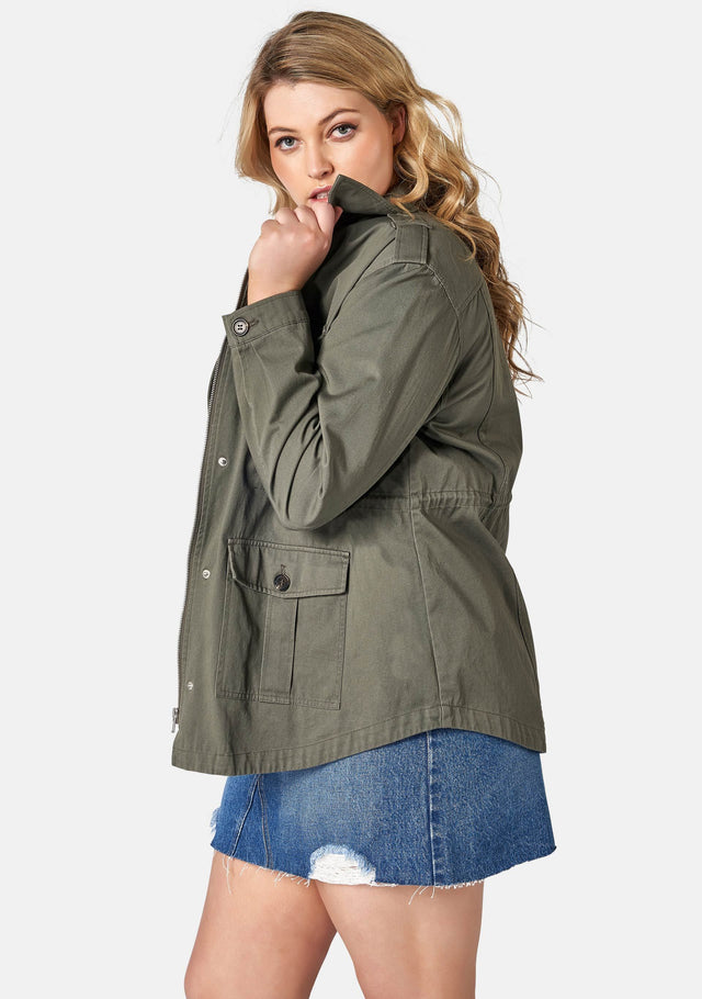 Walk With Me Utility Jacket