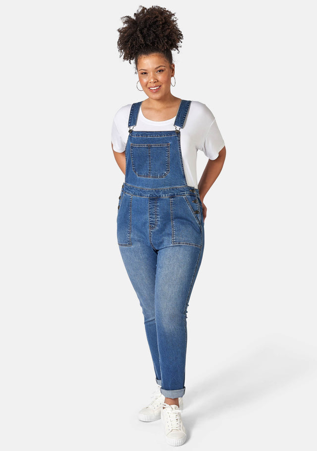Jennifer Denim Overalls