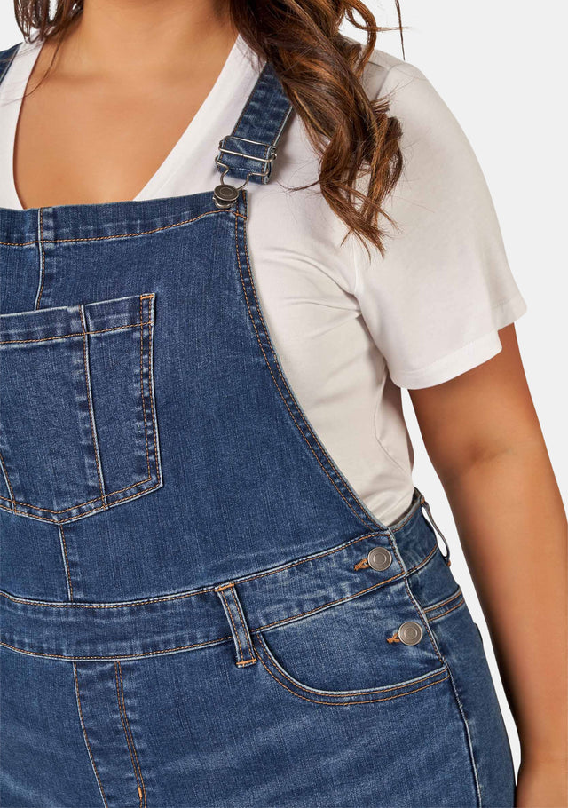 Harley Denim Romper