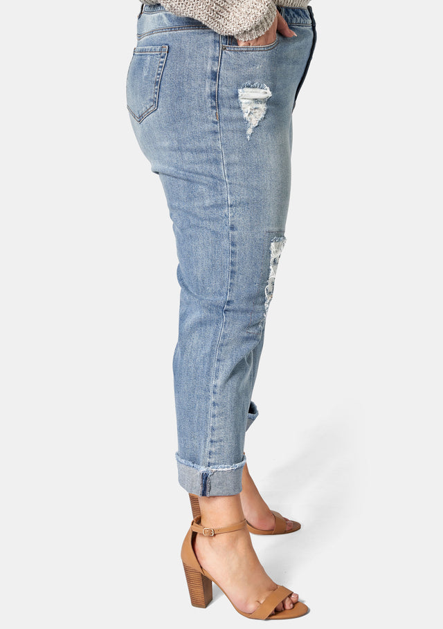 Brody Distressed Straight Leg
