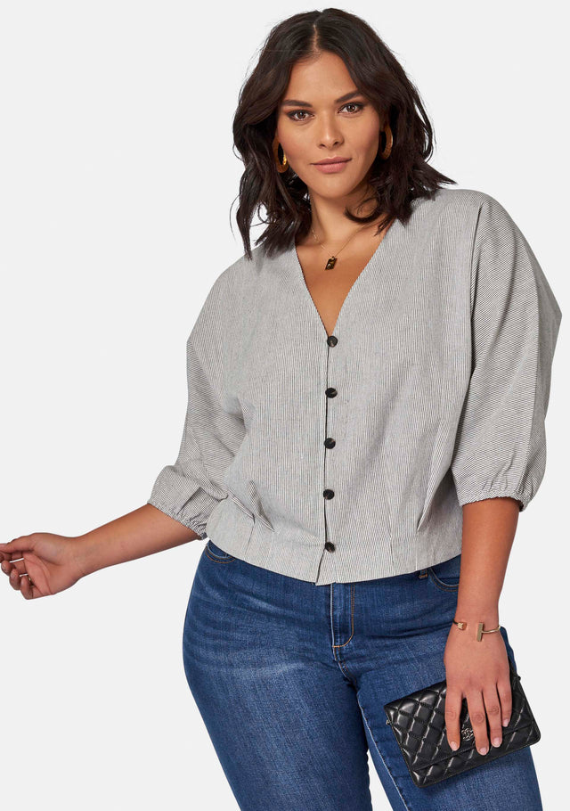Lilly Linen Blouse