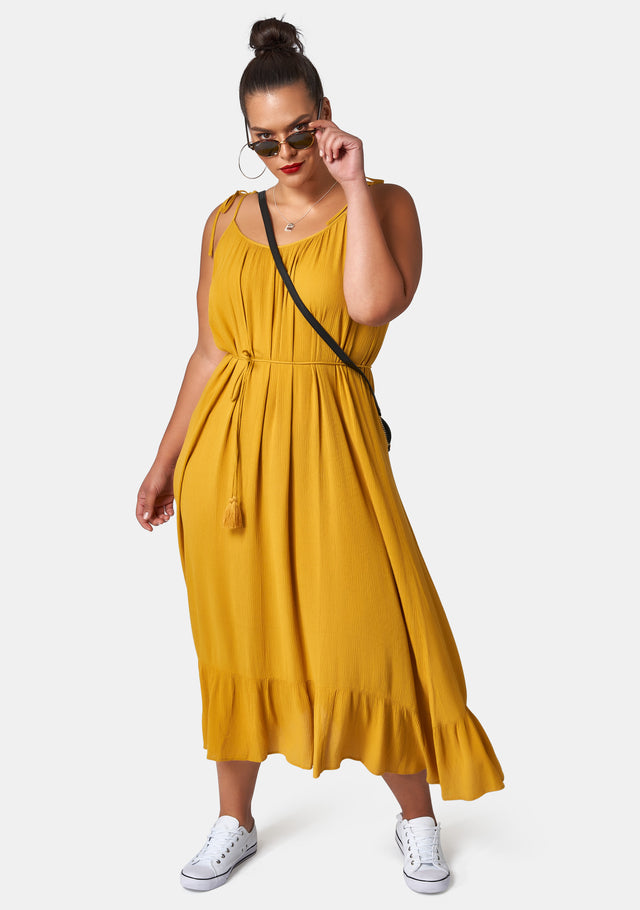 Thinking Man Maxi Dress