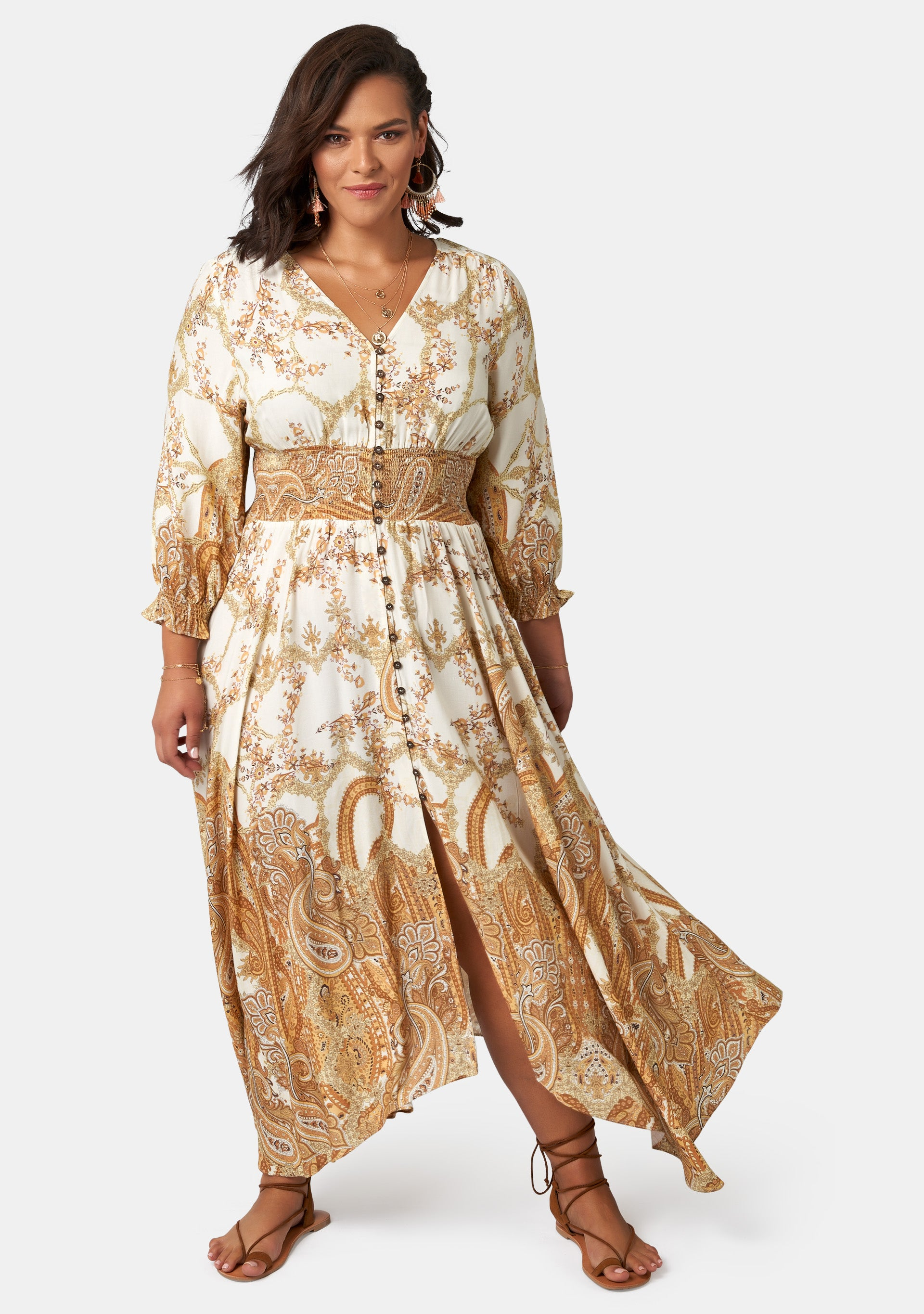 Brown Sugar Maxi Dress