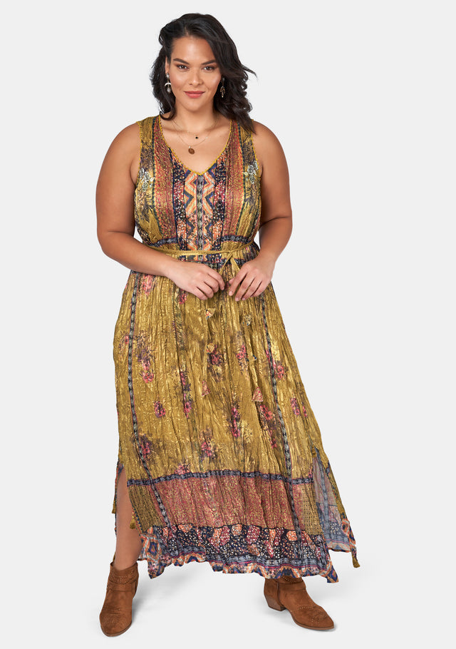 Tribal Love Maxi Dress