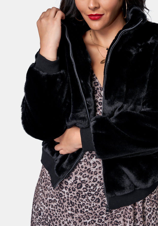 Closing Love Fur Bomber